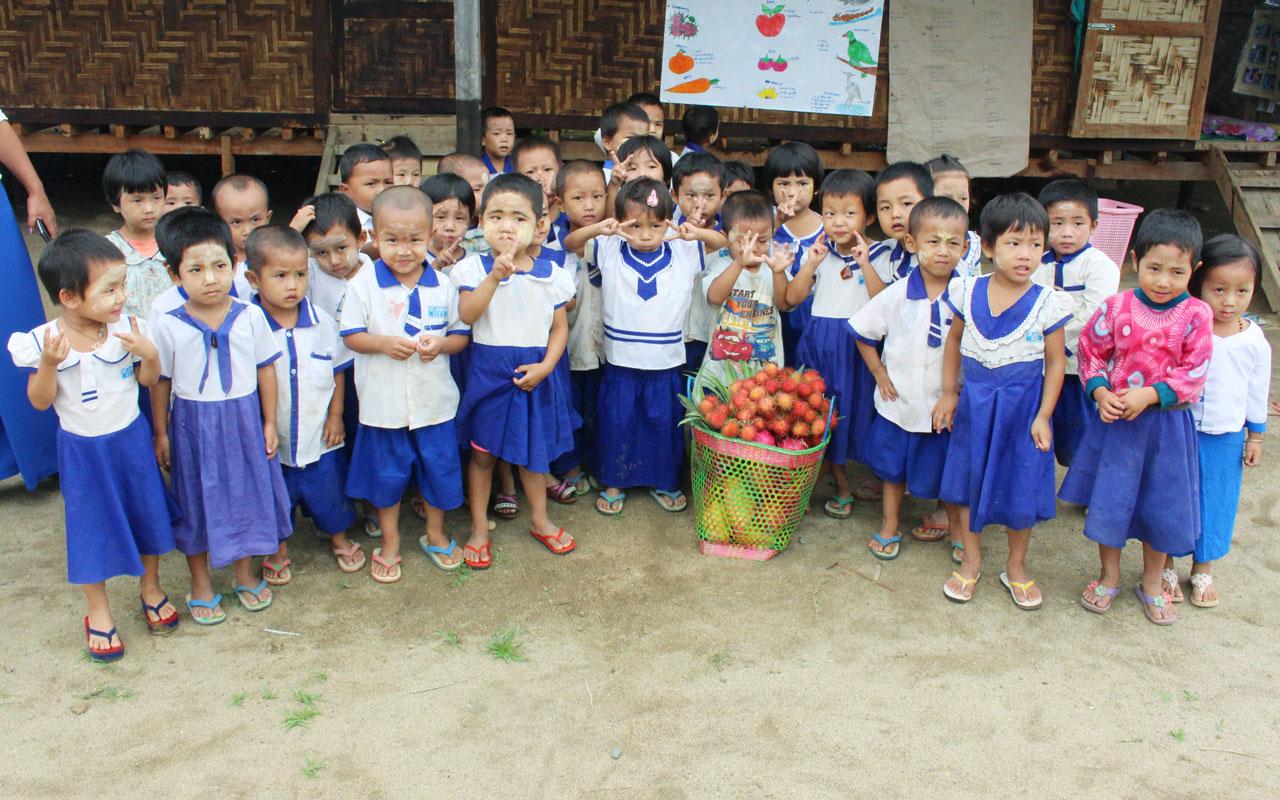Mensajeros de Misericordia en Myanmar