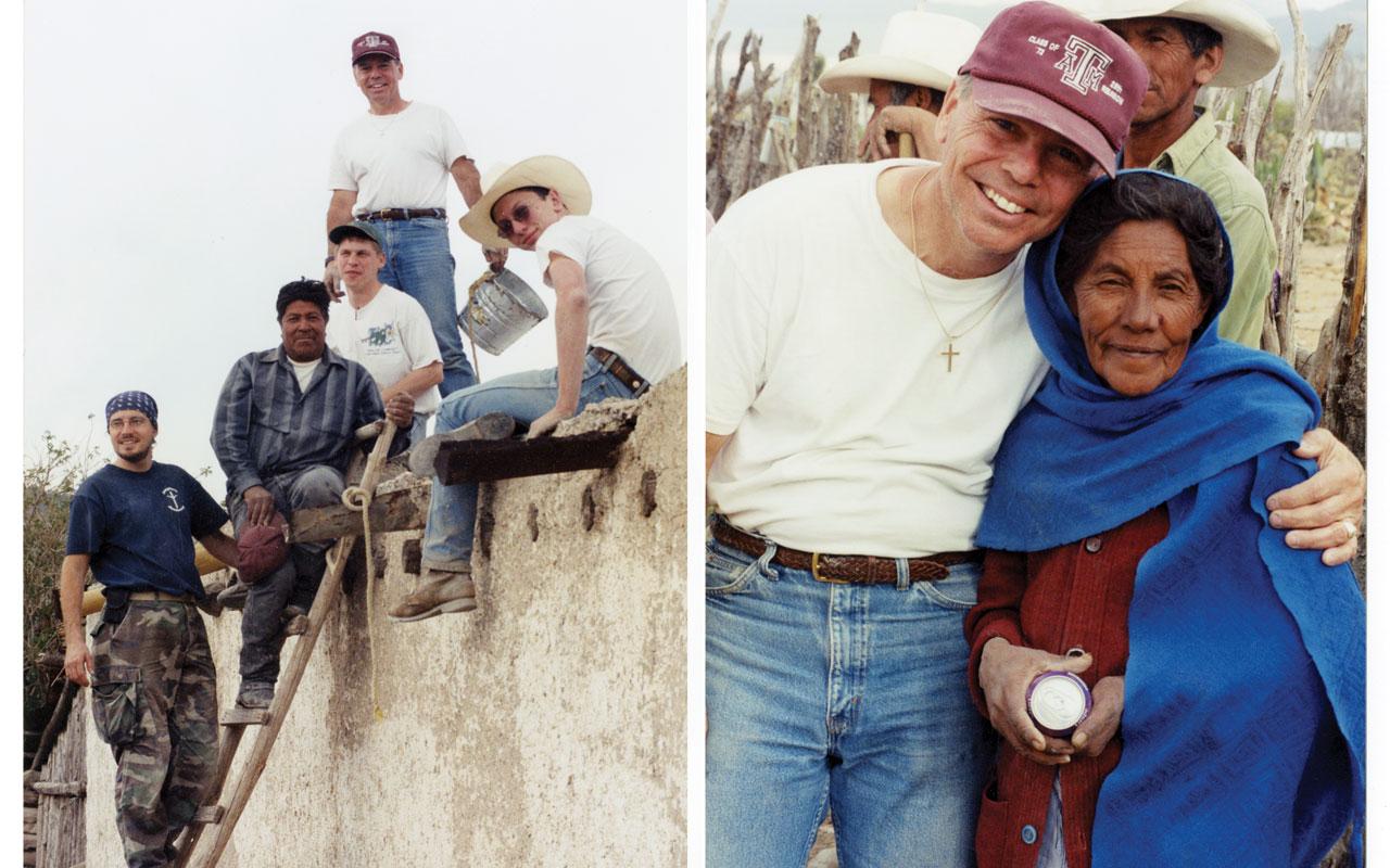 Voluntario texano involucra a jóvenes en misión a México