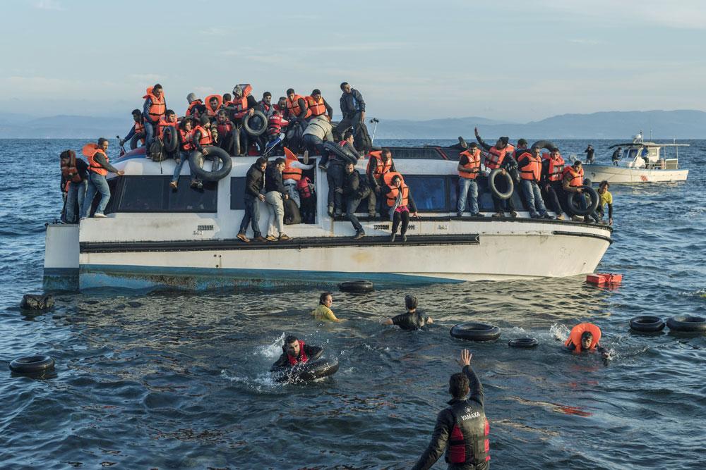 GRECIA: DESDE LOS CAMPAMENTOS DE REFUGIADOS