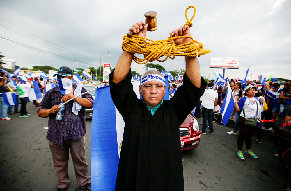 NICARAGUA: REPORTE DE LA CRISIS