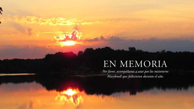 En Memoria 2019